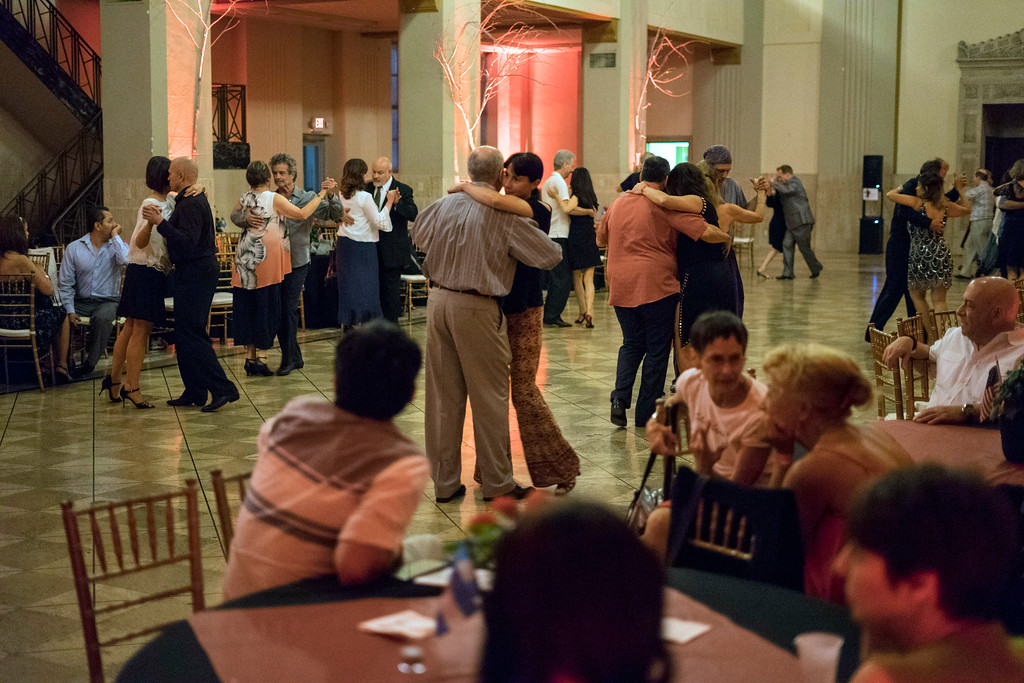 Couples tango into the night during the first Louisville Tango Festival. 5/27/16