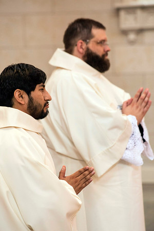 Luder Wilfredo Fernandez Panica and Sean David McKinley were ordained into the priesthood on Saturday afternoon during a cermony held at the Cathedral of the Assumption. 5/28/16