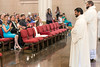 Candidates for priesthood Luder Wilfredo Fernandez Panica and Sean David McKinley are presented to those in attendance during a Presbyteral Ordination on Saturday afternoon. 5/28/16