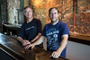 Ken and Wade Mattingly are the men behind Old Louisville Brewery. 5/28/16