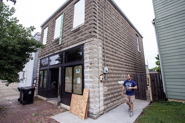 625 Magnolia is the address for the soon to open Old Louisville Brewery. 5/28/16