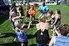 A lively group of participants feel the energy from a mix of dancing and yoga known as the nia technique during the Hike, Bike, & Paddle event on Monday. 5/30/16