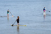 The Memorial Day Hike, Bike, & Paddle event at Waterfront Park introduced paddleboarding as one of the many water options available. 5/30/16