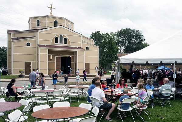 The Louisville Greek Festival has moved around over the past few years, but it came home in 2016 to the Assumption Greek Orthodox Church in Lyndon. 6/4/16