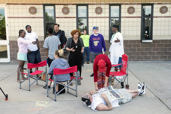 Fans of the late Muhammad Ali lined up early at Freedom Hall on Tuesday morning for a chance to get free tickets to the Islamic funeral prayer service on Thursday. 6/7/16