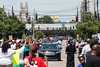The Muhammad Ali funeral procession arrived near 28th and Broadway around noon on Friday with fans filling the street to get closer to the Louisville legend as his hearse passed. 6/10/16