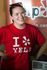 Kathy Van Ryzin of Louisville's Yelp Elite Squad works a booth during a Support Our Troops event at The Post in Germantown. 6/20/16