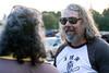 Scott Rifenbark's dude-like appearance was perfect for the Lebowski Fest scene on Friday night. 7/8/16
