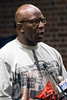 Dwayne Bell confessed that all things Confederate offend him and suggested that the Confederate Statue be dumped into the Ohio River during a public hearing on its relocation. 7/25/16