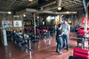 HopCat vice president of marketing Chris Knape gives Courier-Journal writer Bailey Loosemore a look at the Grinstead Room in the massive Highlands bar set to open this weekend. 7/27/16