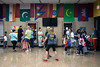 Flags of various nations are displayed in the multi-cultural diverse school of Northaven Elementary in Clark County, IN. 7/28/16