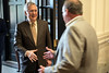 Senator Mitch McConnell shook the hands of all Metro Chamber of Commerce members after a luncheon at The Olmstead on Friday afternoon. 7/29/16