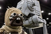 A Tusken Raider watches over the crowd at FandomFest ready to strike any strays that wander too close. 7/30/16