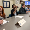 Teens and recent high school graduates participated on Tuesday in a panel to discuss their experiences in a summer program sponsored by Ford to boost interest in manufacturing jobs. 8/2/16