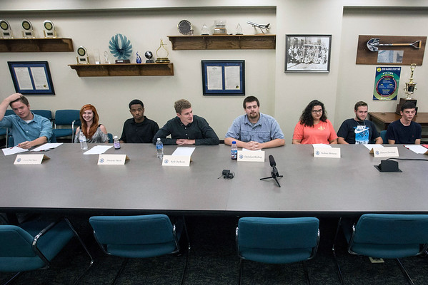 Teens from various area high schools participated in a panel discussion on Tuesday as part of a Ford program to boost interest in manufacturing jobs amongst recent graduates. 8/2/16