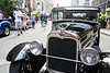 Dan McCurdy's 1930 Ford Model A was one of the more vintage cars on display at Fourth Street Live in Wednesday afternoon. 8/3/16