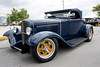 Jack Stirnmann's 1931 Ford Roadster was on display at the National Street Rods show at the Expo Center on Saturday. 8/6/16