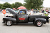 Gary Lucas' 1947 Chevy pickup drew attention at the National Street Rods show at the Expo Center on Saturday. 8/6/16