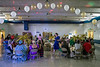 The gym at Lincoln Elementary was full of costumes, decorations, and music on Monday morning as teachers were treated to a tacky prom to celebrate the start of the new school year. 8/8/16