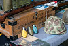 Items from WWII were on display as part of the hangar exhibits at the Spirit of '45 Commemoration at Bowman Field. 8/13/16