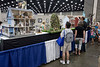 Guests to the Kentucky State Fair stop to marvel at the miniature detail and award winning craftsmanship of the dollhouse exhibit. 8/24/16