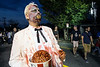 Roger Vadner resurrected Colonel Sanders for the annual Zombie Walk in the Highlands on Saturday night. 8/27/16
