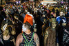 Zombies and curious onlookers filled Baxter Avenue between Grinstead and Highland for the official after-party of the annual Zombie Walk on Saturday night. 8/27/16