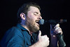 Country musician Chris Young connects with his fans during a performance at Freedom Hall on Sunday night. 8/28/16