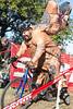 Gregg Dyas hits a downhill stretch during the 12th Annual Papa John's Storm Eva Bandman Halloween Cross. 10/23/16