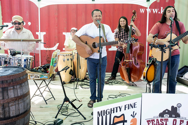 The band Appalatin performed its Latin-infused bluegrass style of music during FEAST O.F.F. 9/3/16