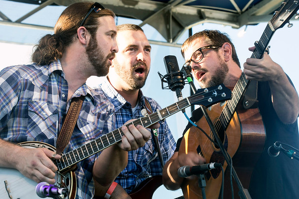 Bluegrass band Relic took the stage and wowed the audience with its hamonizing during the Kentucky Bluegrass & Bourbon Experience. 9/3/16