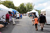 The upper parking lot at Mellwood Art Center was the site of the September Art Fair on Saturday. 9/10/16