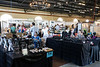 Indoor booths at the September Art Fair offered variety and shelter from the heat and looming storms on Saturday. 9/10/16