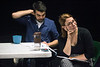 Sammy Zeisel and Paige Vehlwald watch a rehearsal as members of the Actors Theatre Professional Training Company. 9/11/16