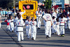 Aspiring blackbelts show off their martial arts skills during participation in the annual Gaslight Parade Festival on Thursday. 9/15/16