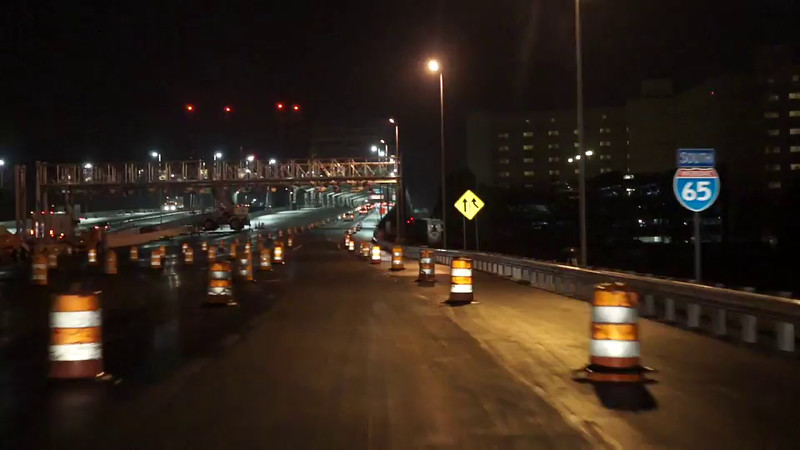 Indiana commuters see route change today-PEARL
