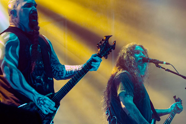 Slayer was one of the many draws on day one of the 2016 Louder Than Life Festival. 10/1/16