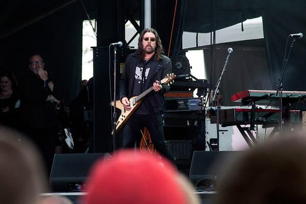 The Cult was one of the many well known bands on the day one line up at the Louder Than Life Festival. 10/1/16