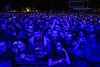 A rowdy group of fans awaits the start of Slayer during Louder Than Life. 10/1/16
