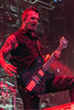 Dan Donegan of Disturbed performs during Louder Than Life. 10/2/16