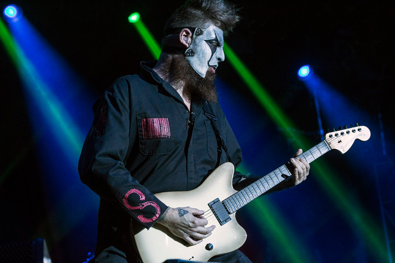 James Root of Slipknot performs on day two of the 2016 Louder than Life Festival. 10/2/16
