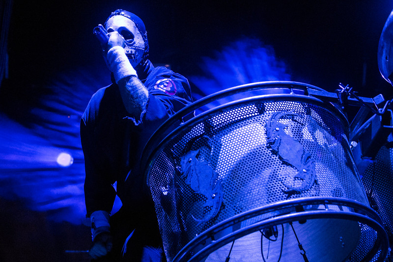 Slipknot delivered true theatre during the Louder than Life Festival. 10/2/16