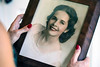 A portrait of Stephanie Miller Slone's late grandmother Mina Lott Blick is showcased in the Slone home. 10/21/16