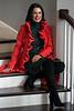 Stephanie Miller Slone wears a dress by Mara Hoffman. 10/21/16