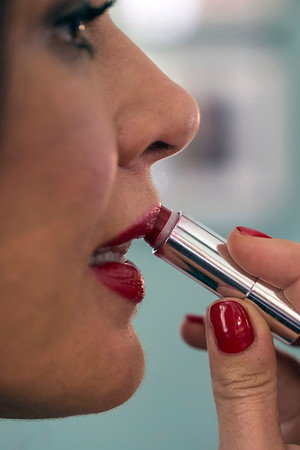 Stephanie Miller Slone's favorite lipstick is the Edge Red Iconic Lipstick in Fierce from Dillards. 10/21/16