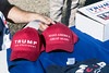 Trump gear was available during a rally at his Fern Creek headquarters on Saturday afternoon. 10/22/16