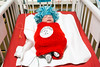 Nash Neal was dressed as Thing 2 as his twin brother Holden lay nearby dressed as Thing 1 in the NICU at Norton Women's & Kosair Children's Hospital on Wednesday morning. 10/26/16