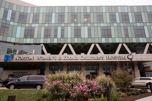 Norton Women's & Kosair Children's Hospital is on Dutchman's Lane in St. Matthews. 10/27/16
