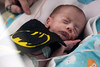 Bodhi Gant, born 9 weeks early on 10/12/16, was dressed as Batman as part of a March of Dimes Halloween event at Norton Women's & Kosair Children's Hospital on Wednesday morning. 10/26/16