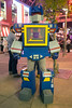 David Jones was dressed as Soundwave from the Transformers during the Fourth Street Live Halloween party. 10/29/16